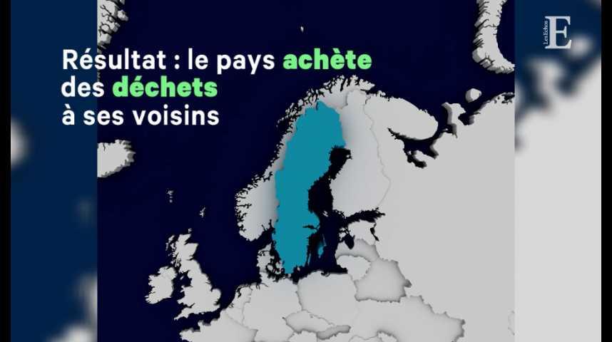 Illustration pour la vidéo La Suède réutilise 99% de ses déchets