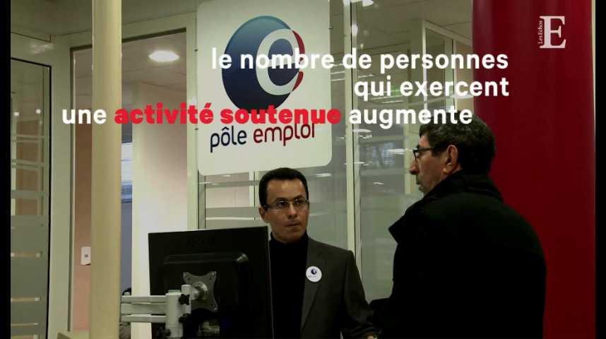 Illustration pour la vidéo Baisse du chômage sur le premier trimestre