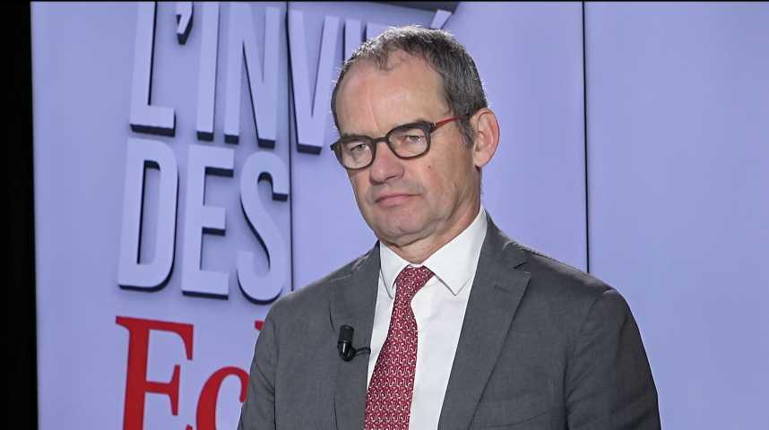 Illustration pour la vidéo Patrick Jeantet (SNCF Réseau) : « Je suis très optimiste sur la reprise de la dette de la SNCF par l'Etat »