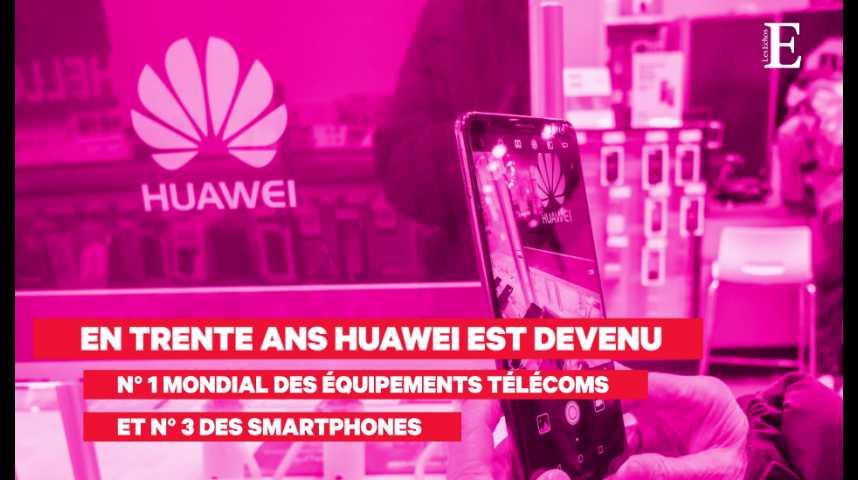 Illustration pour la vidéo Huawei, champion du tout connecté