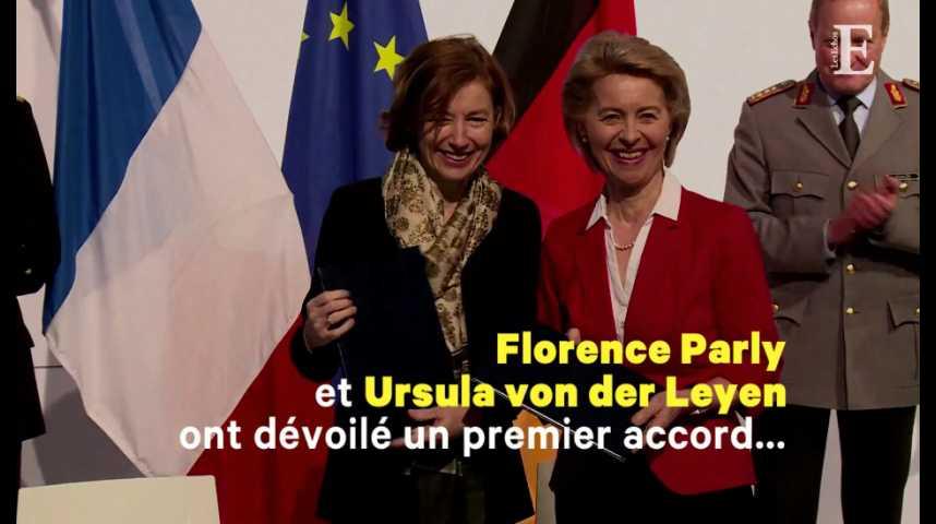 Illustration pour la vidéo Futur avion de combat : Paris et Berlin posent les bases