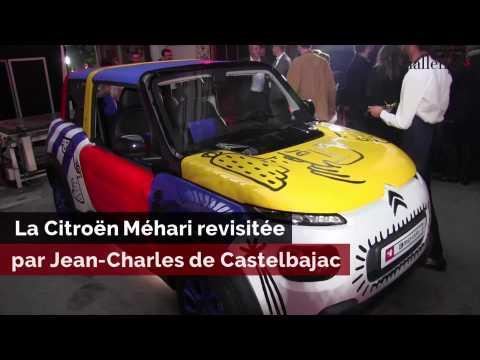 La Citroën Méhari revisitée par Jean-Charles de Castelbajac