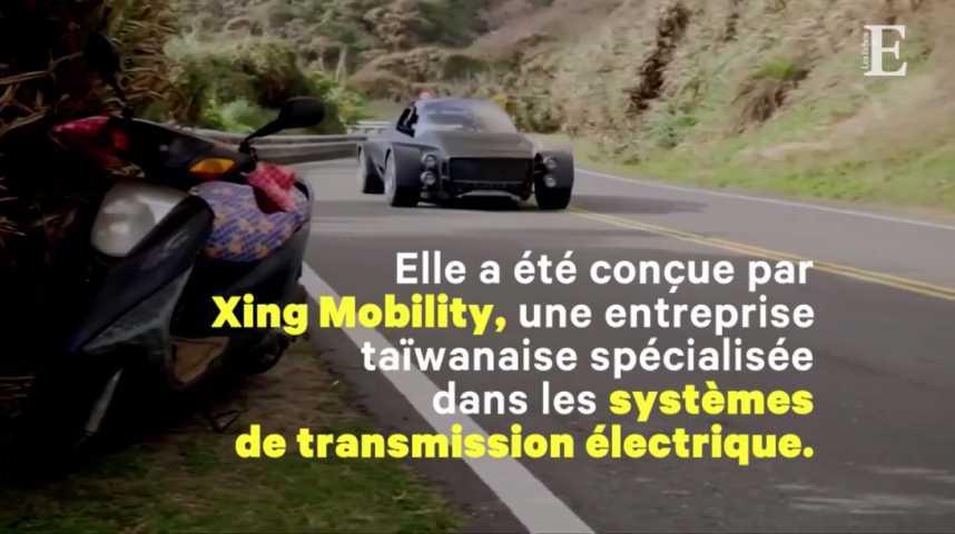 Illustration pour la vidéo « Miss R », le roadster taiwanais qui veut battre Tesla