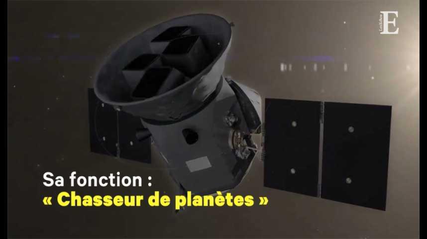 """Illustration pour la vidéo Voici """"TESS"""", le nouveau télescope spatial, chasseur de planètes habitables de la NASA"""