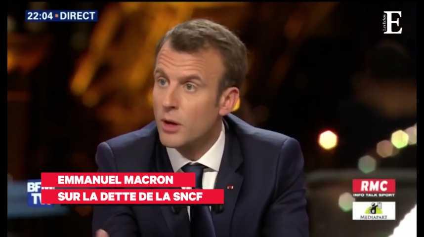 Illustration pour la vidéo Les temps forts de l'interview de Macron face à Bourdin et Plenel