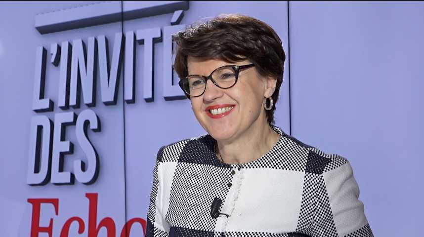 """Illustration pour la vidéo SNCF : """"C'est une réforme a minima, comme souvent avec Emmanuel Macron"""" (Annie Genevard)"""