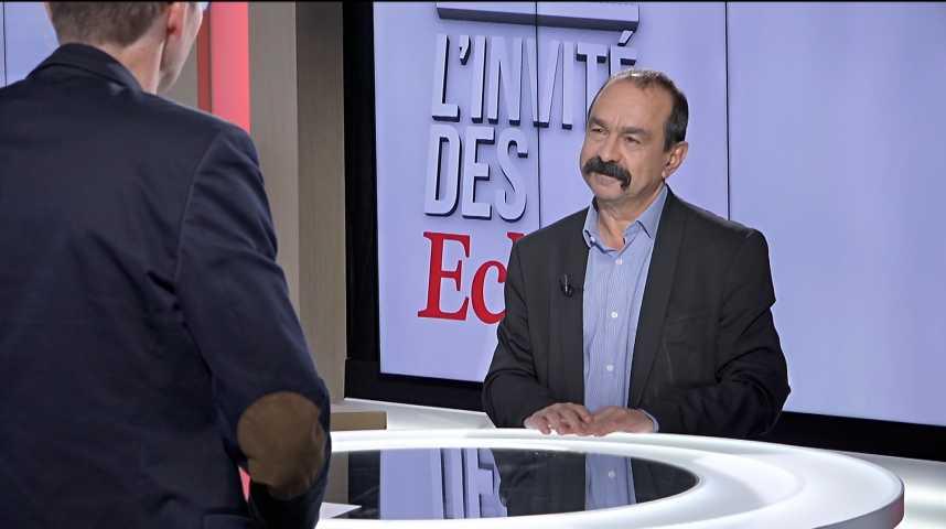 """Illustration pour la vidéo Réforme SNCF : """"les députés En Marche répètent à vau-l'eau leurs leçons"""" (Philippe Martinez)"""