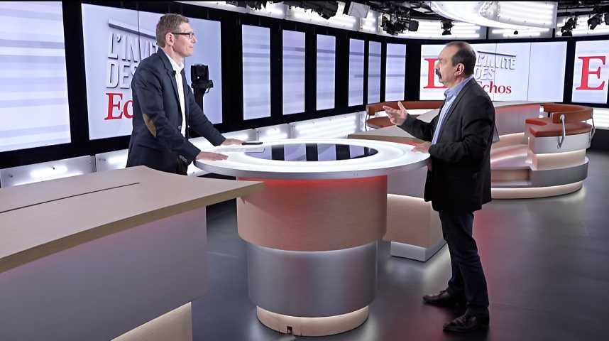 """Illustration pour la vidéo Philippe Martinez (CGT) : """"Oui, il y aura des coupures d'électricité sur des entreprises"""""""