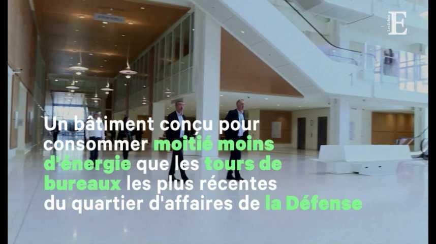 Illustration pour la vidéo Le nouveau tribunal de Paris a ouvert ses portes