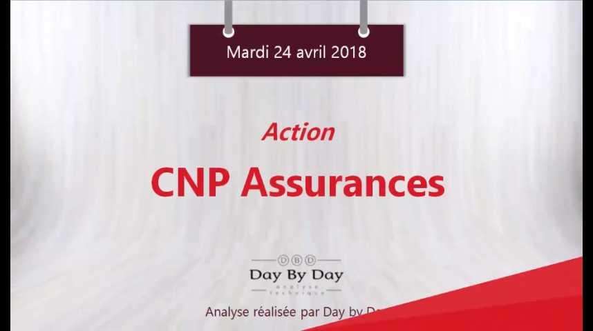 Illustration pour la vidéo Action CNP Assurances : nouveau plus haut historique - Flash Analyses IG 24.04.2018