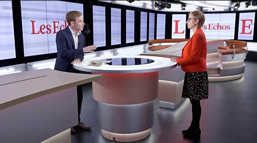 Illustration pour la vidéo Clémentine Autain (France Insoumise) : « Emmanuel Macron, avec son libéralisme économique et son autoritarisme, est à mille lieux de Mai 68 »