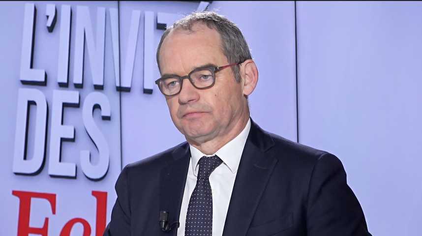 Illustration pour la vidéo Patrick Jeantet : « SNCF Réseau propose de regrouper des services aux citoyens dans les gares »