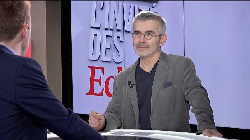 Illustration pour la vidéo « Les réformes de l'Unédic, de la fonction publique, et des retraites seront des objets de conflits », déclare Yves Veyrier (Force ouvrière)