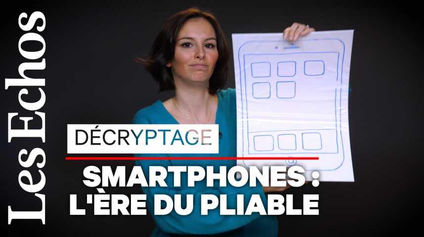 Illustration pour la vidéo Les smartphones pliables arrivent... mais en a-t-on (vraiment) besoin ?