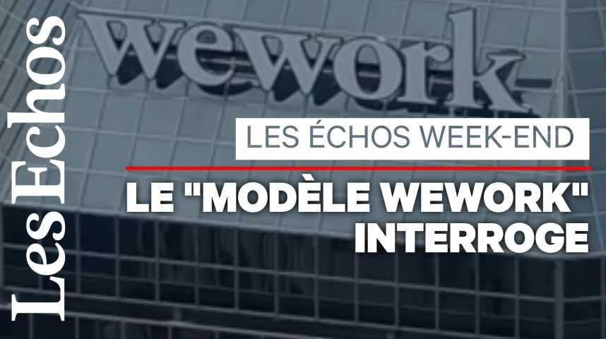 Illustration pour la vidéo Où va WeWork, le leader mondial des bureaux partagés ?