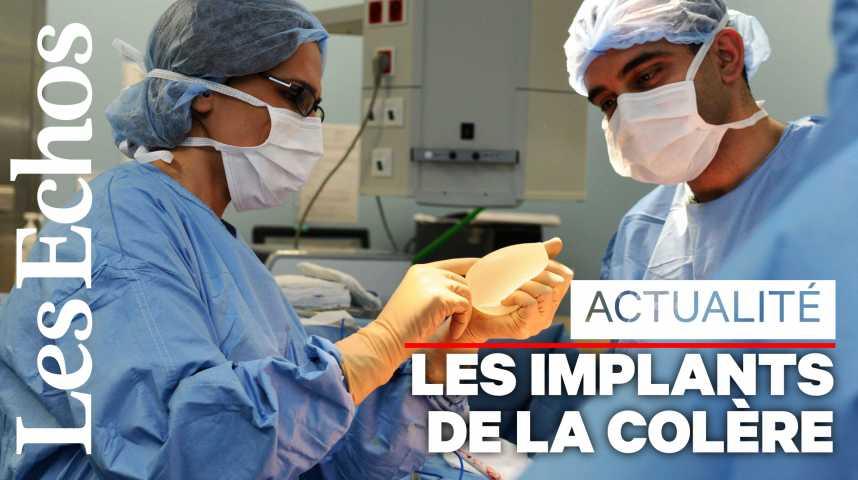 Illustration pour la vidéo Implants mammaires Allergan : plusieurs plaintes déposées