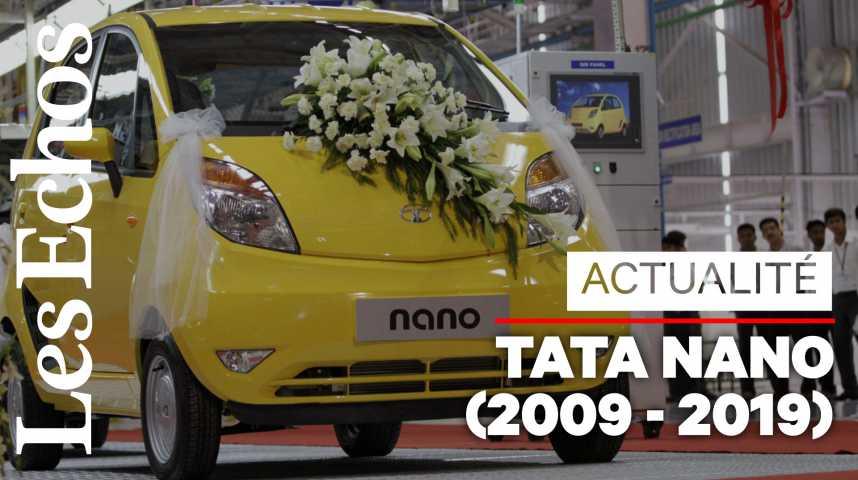 """Illustration pour la vidéo La Tata Nano disparaît... quelle voiture devient """"la moins chère du monde"""" ?"""