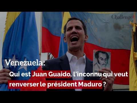 Venezuela: qui est Juan Guaido, l'inconnu qui veut renverser le président Maduro ?