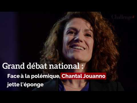 Grand débat national: face à la polémique, Chantal Jouanno jette l'éponge