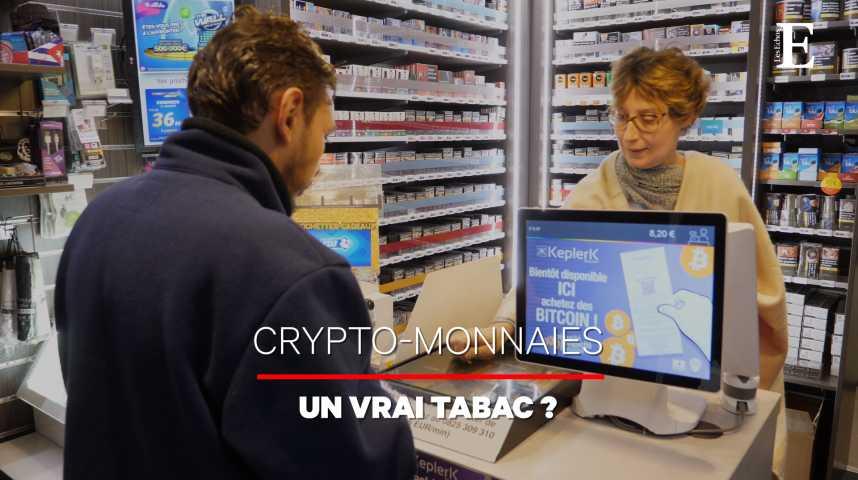 Illustration pour la vidéo On a acheté du bitcoin… dans un bureau de tabac
