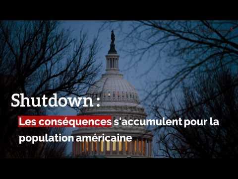 Shutdown : Les conséquences s'accumulent pour la population américaine