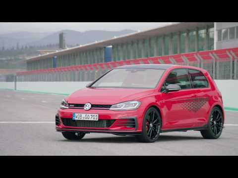 The new Volkswagen Golf GTI TCR Exterior Design