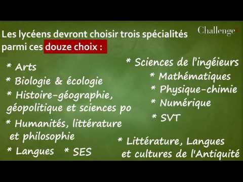Réforme du Bac : la liste des spécialités par établissement dévoilée malgré les contestations lycéennes.