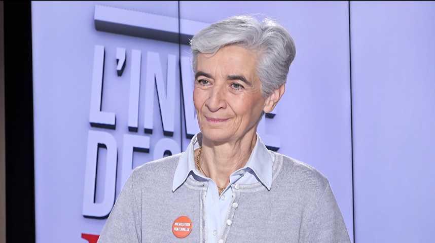 """Illustration pour la vidéo Véronique Fayet (Secours catholique) : « De plus en plus de """"presque pauvres"""" en France »"""