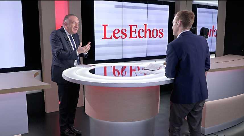 Illustration pour la vidéo « Les fonctionnaires sont remarquables, mais broyés par un système », déclare Pierre Gattaz (Business Europe)