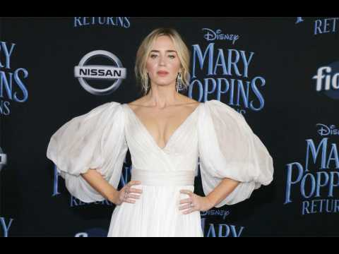 Emily Blunt thanks Julie Andrews for Mary Poppins freedom
