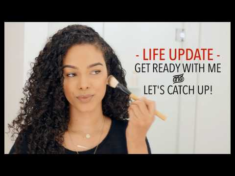 Life UPDATE: GRWM // Waxing upper lip, NEW home, Fitness + more