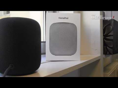 On a testé l'HomePod, l'enceinte connectée d'Apple