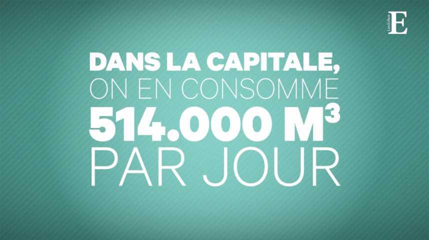 Illustration pour la vidéo Quand Paris a soif : comprendre le circuit de l'eau potable en 6 étapes