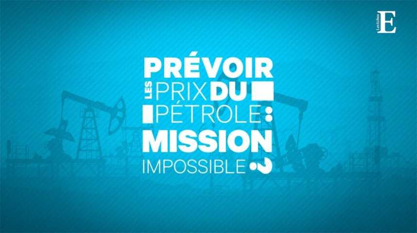 Illustration pour la vidéo Prévoir les prix du pétrole : mission impossible ?