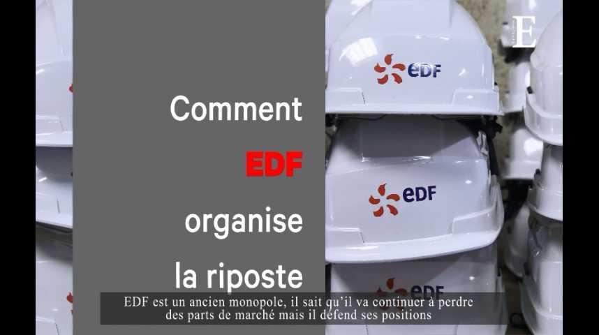 Illustration pour la vidéo Electricité : EDF perd du terrain, les fournisseurs alternatifs progressent