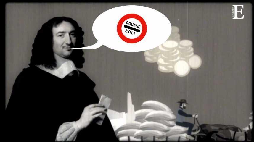 Illustration pour la vidéo Halte, douane ! Mais au fait...c'est quoi, un droit de douane ?