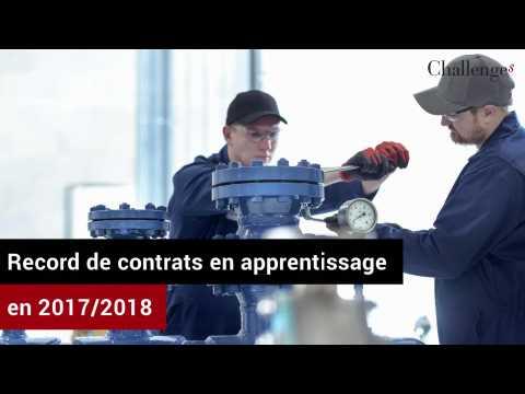 Record de contrats en apprentissage en 2017/2018