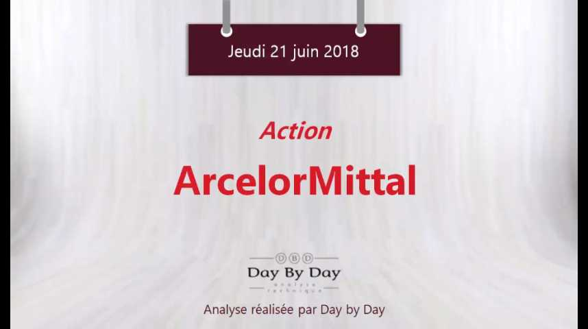Illustration pour la vidéo Action ArcelorMittal : validation d'une figure de retournement - Flash analyse IG 21.06.2018