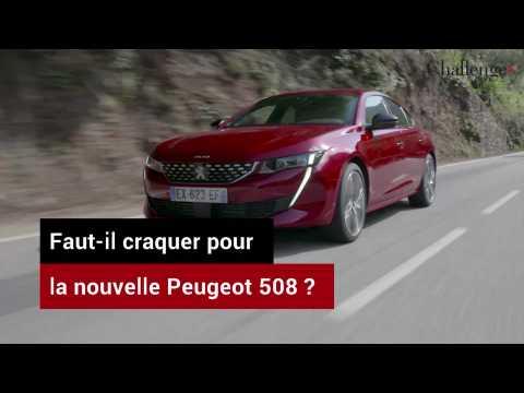 Faut-il craquer pour la nouvelle Peugeot 508 ?