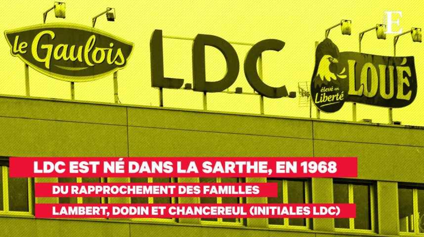Illustration pour la vidéo Volailles fermières de Loué : la poule aux oeufs d'or de LDC