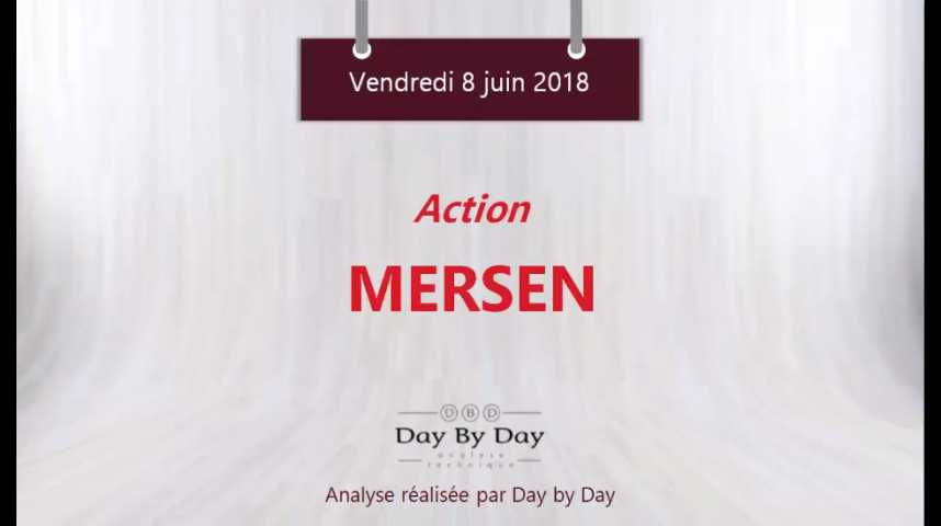 Illustration pour la vidéo Action Mersen : au contact d'un support majeur - Flash analyse IG 08.06.2018