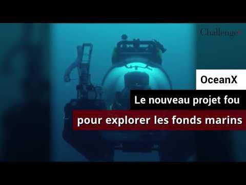 OceanX, le nouveau projet fou pour explorer les fonds sous-marins