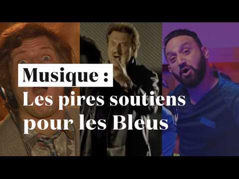 Hanouna, Hallyday, Carlos, Lalanne ... les pires chansons pour soutenir les Bleus