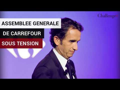 Assemblée générale de Carrefour sous tension