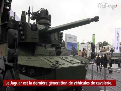 Le Jaguar, le dernier véhicule connecté de l'armée de terre
