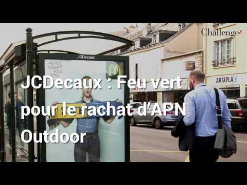 JCDecaux: Feu vert pour le rachat d'APN Outdoor