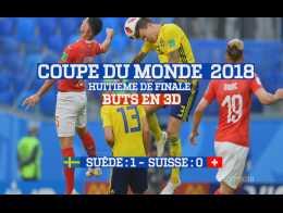 Buts en 3D : Suède - Suisse (1:0) Coupe du Monde 2018