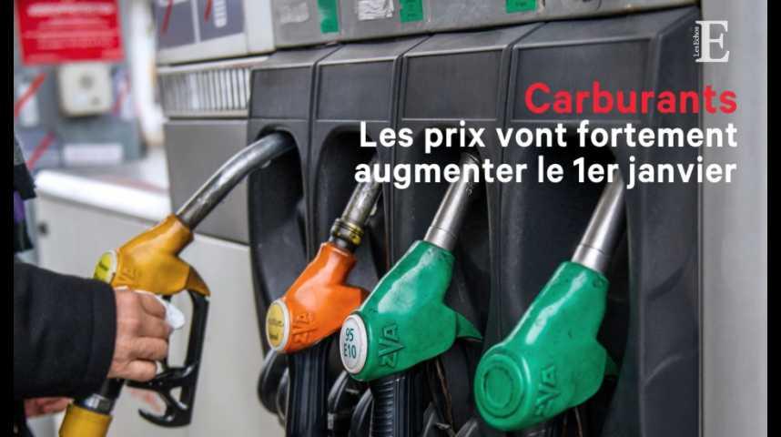 Illustration pour la vidéo Le prix des carburants va fortement augmenter le 1er janvier