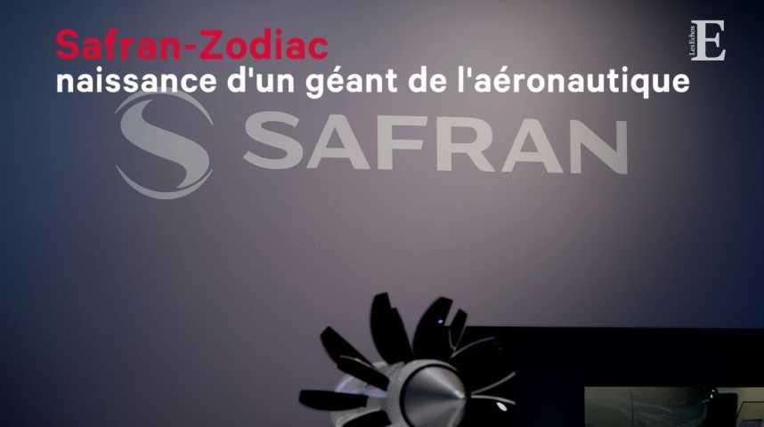 Illustration pour la vidéo Safran-Zodiac, naissance d'un géant de l'aéronautique