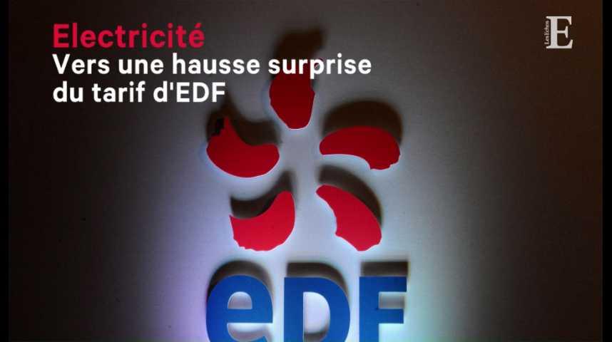 Illustration pour la vidéo Electricité : vers une hausse surprise du tarif d'EDF